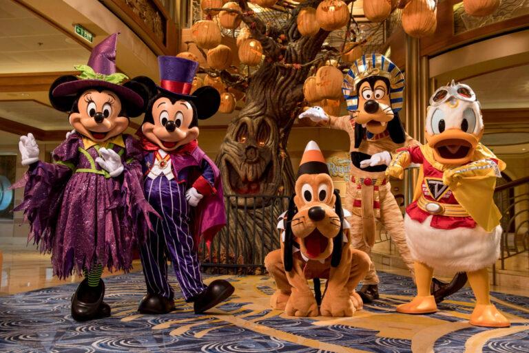 Disney Cruise Line Details 2022 Halloween & Christmas Voyages